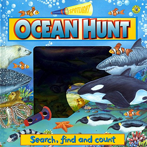 Ocean Hunt (Search, Find and Count) [Board book]