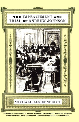 the impeachment of andrew johnson essay Johnson became a member of the us house of representatives, the lower chamber of congress where he served until 1853 in congress he was a champion of the poor.