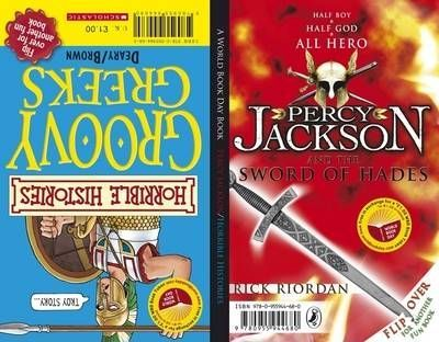Percy Jackson and the Sword of Hades / Horrible Histories: Groovy Greeks - World Book Day Stock Pack