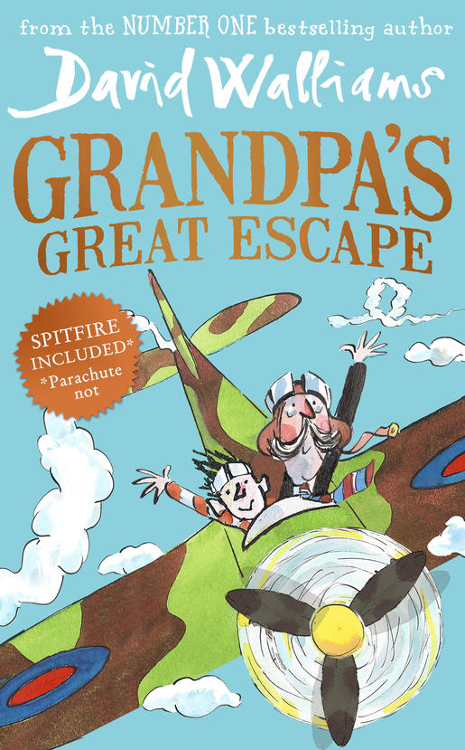 Cover Art for Grandpa's Great Escape, ISBN: 9780008135195