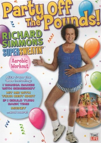 Richard Simmons Party Off The Pounds DVD - Region 0 Worldwide
