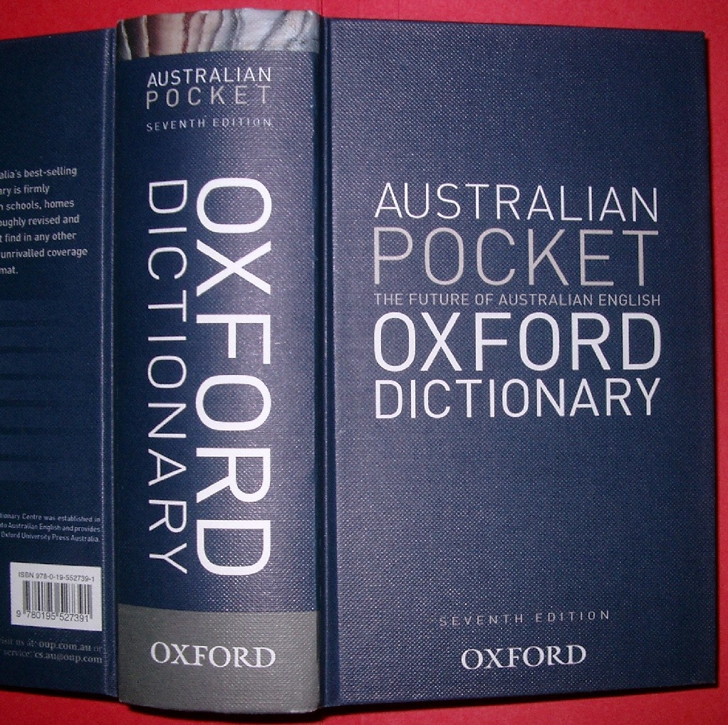 Australian Pocket Oxford Dictionary by Mark Gwynn, Amanda Laugesen, Julia Robinson, ISBN: 9780195527391