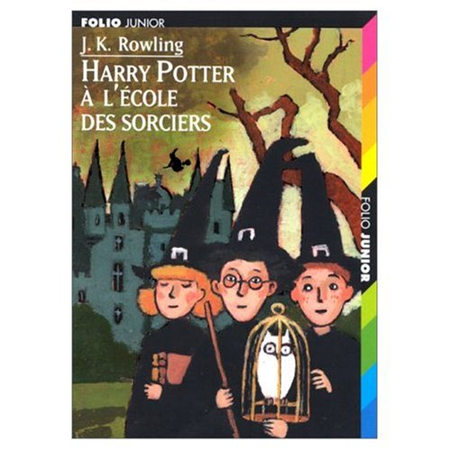 "Cover Art for Harry Potter a l'Ecole des Sorciers (French ""Harry Potter and the Sorcerer's Stone"") 2 Audio MP3 compact discs (French Edition), ISBN: 9780685284520"