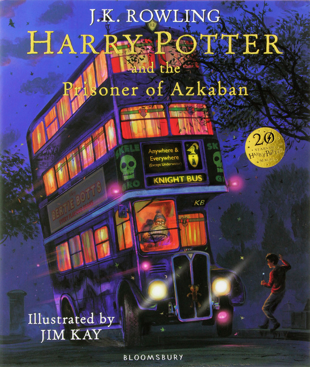 Harry Potter and the Prisoner of Azkaban: Illustrated Edition by J.K. Rowling, ISBN: 9781408845660