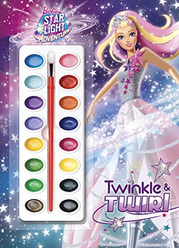 Twinkle & Twirl (Barbie Star Light Adventure)Deluxe Paint Box Book