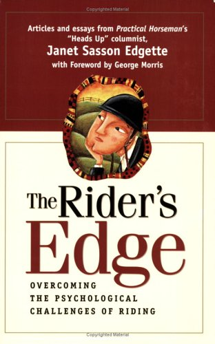 The Rider's Edge by Janet Sasson Edgette, ISBN: 9781929164226