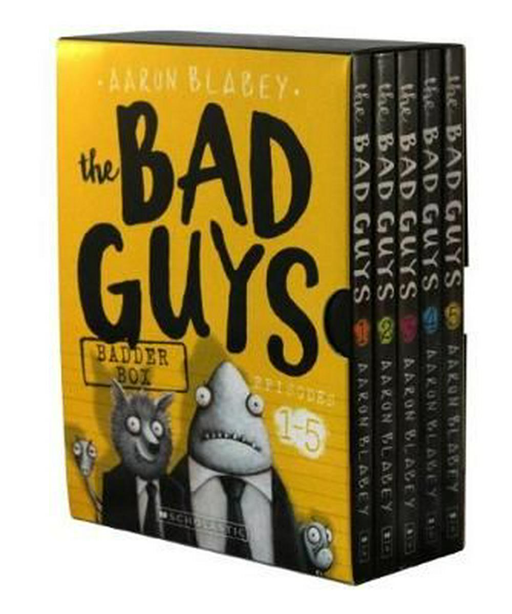 Bad Guys Badder Box Episodes 1-5