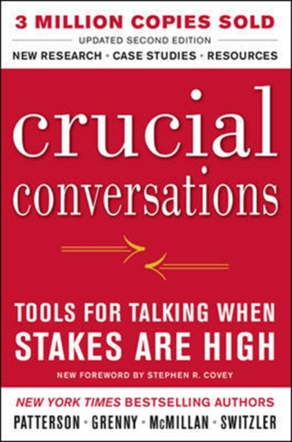 Cover Art for Crucial Conversations Tools for Talking When Stakes Are High, ISBN: 9780071771320