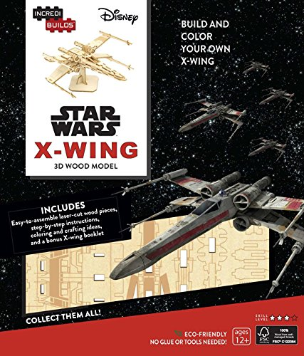 IncredibuildsStar Wars: X-Wing 3D Wood Model