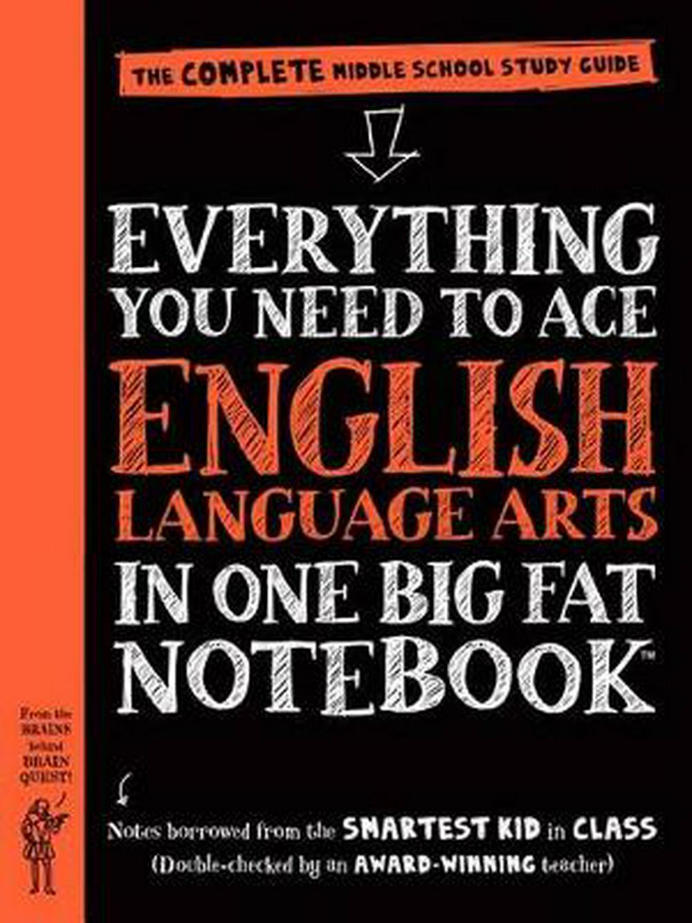 Everything You Need to Ace English Language Arts in One Big Fat Notebook: A Middle School Study Guide (Big Fat Notebooks)