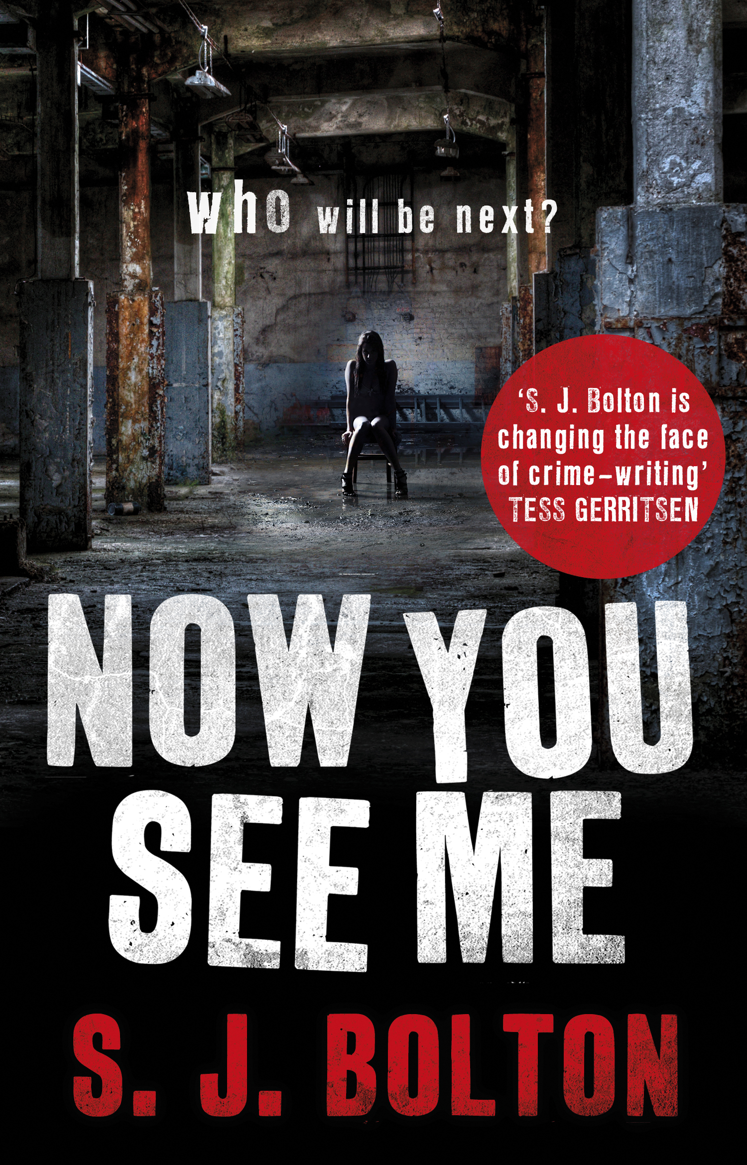 Now You See Me: Lacey Flint Series, Book 1