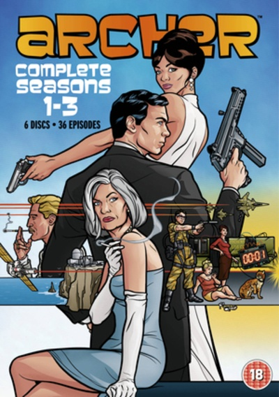 Cover Art for Archer - Season 1-3, ISBN: 5039036057295