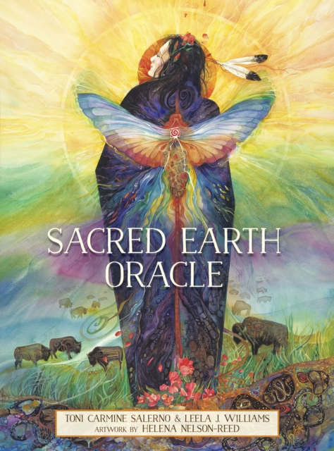 Sacred Earth Oracle: Guidance for Challenging Times - 45 cards and 120-page guidebook.
