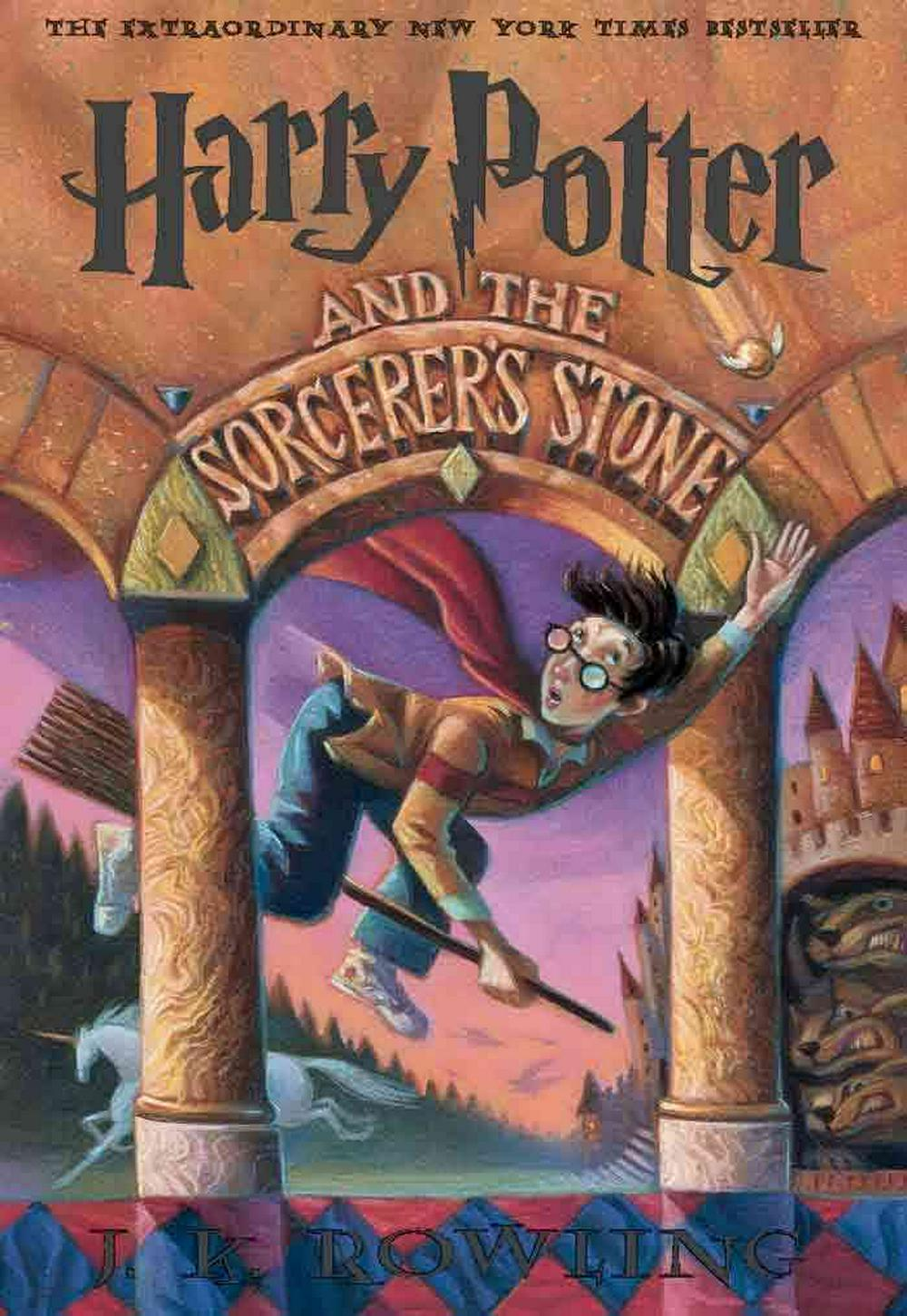 Cover Art for Harry Potter and the Sorcerer's Stone, ISBN: 9780613206334
