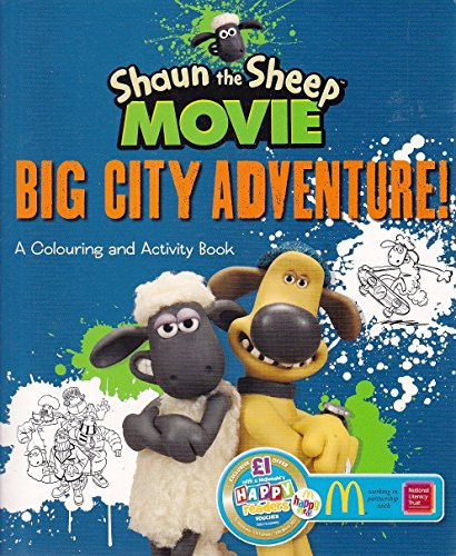 Shaun The Sheep Movie Big City Adventure A Colouring And Activity Book Paperback RRP