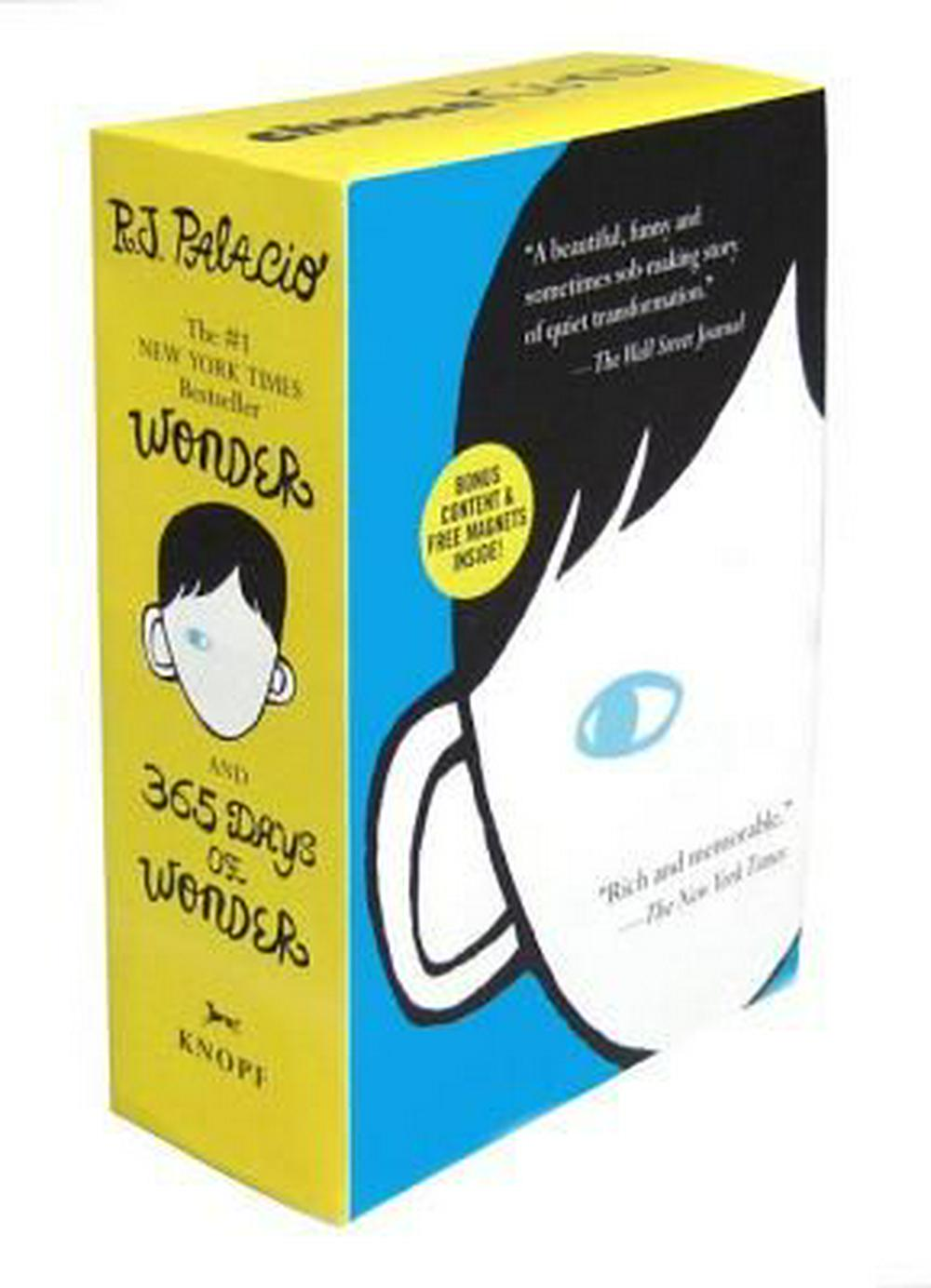Wonder/365 Days of Wonder Box Set by R J Palacio, ISBN: 9780553499063