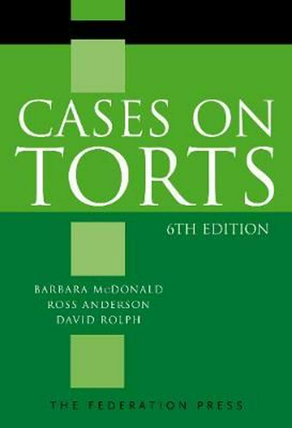 Cases on Torts