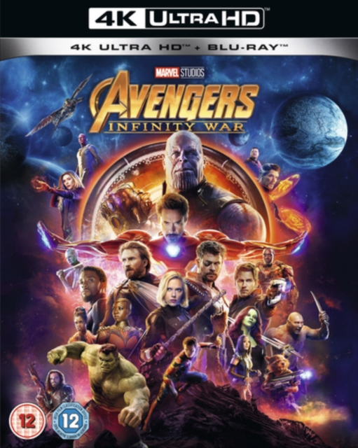 Avengers Infinity War [Blu-ray 4K] [2018] [Region Free] by Unknown, ISBN: 8717418532659