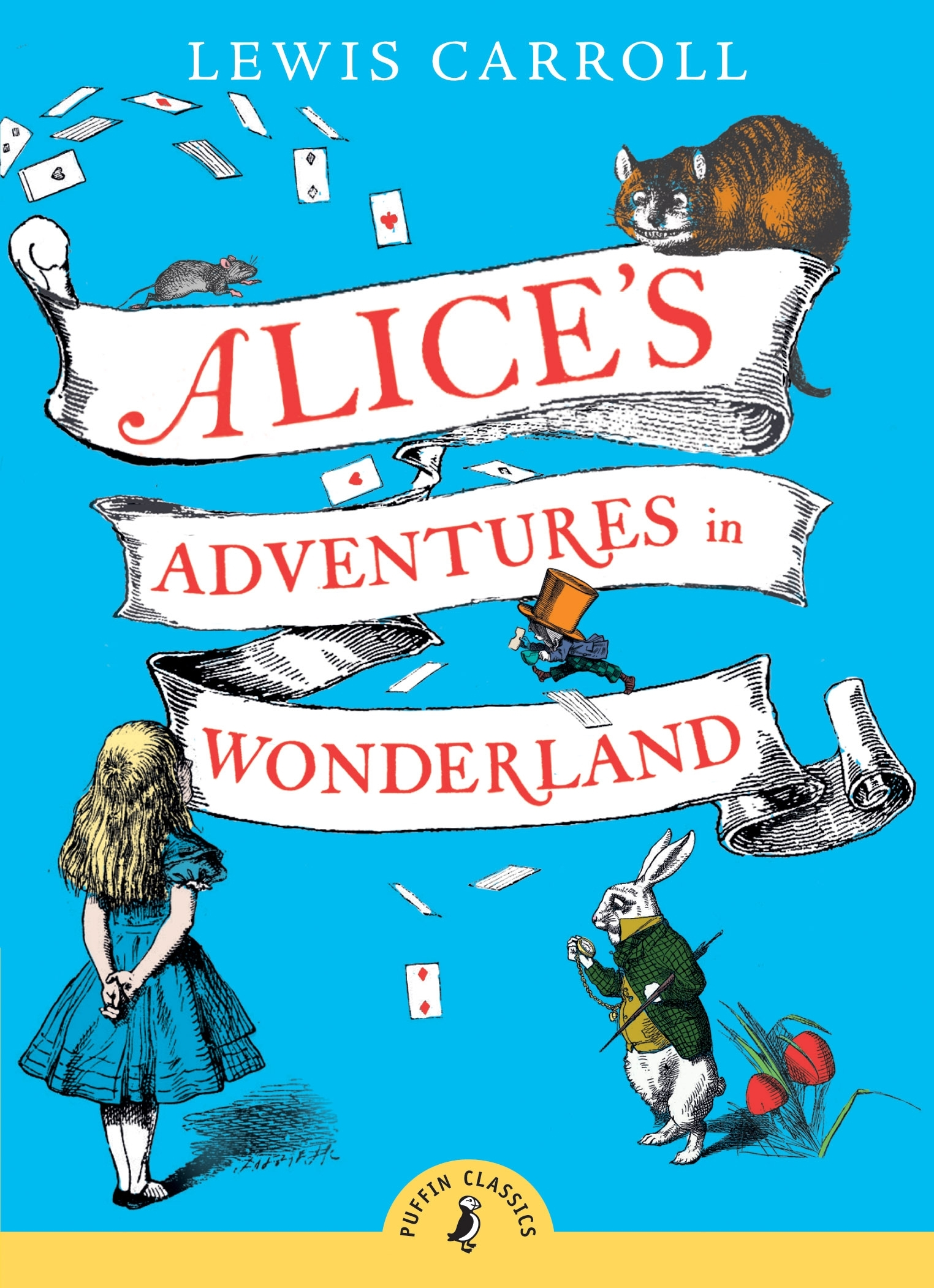 Alice's Adventures In Wonderland by Lewis Carroll, ISBN: 9780141321073