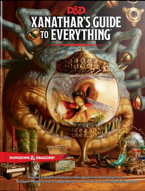 Xanathar's Guide to Everything by Wizards RPG Team, ISBN: 9780786966110