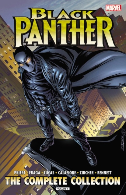 Black Panther by Christopher Priest: The Complete Collection by Christopher Priest, ISBN: 9781302900588