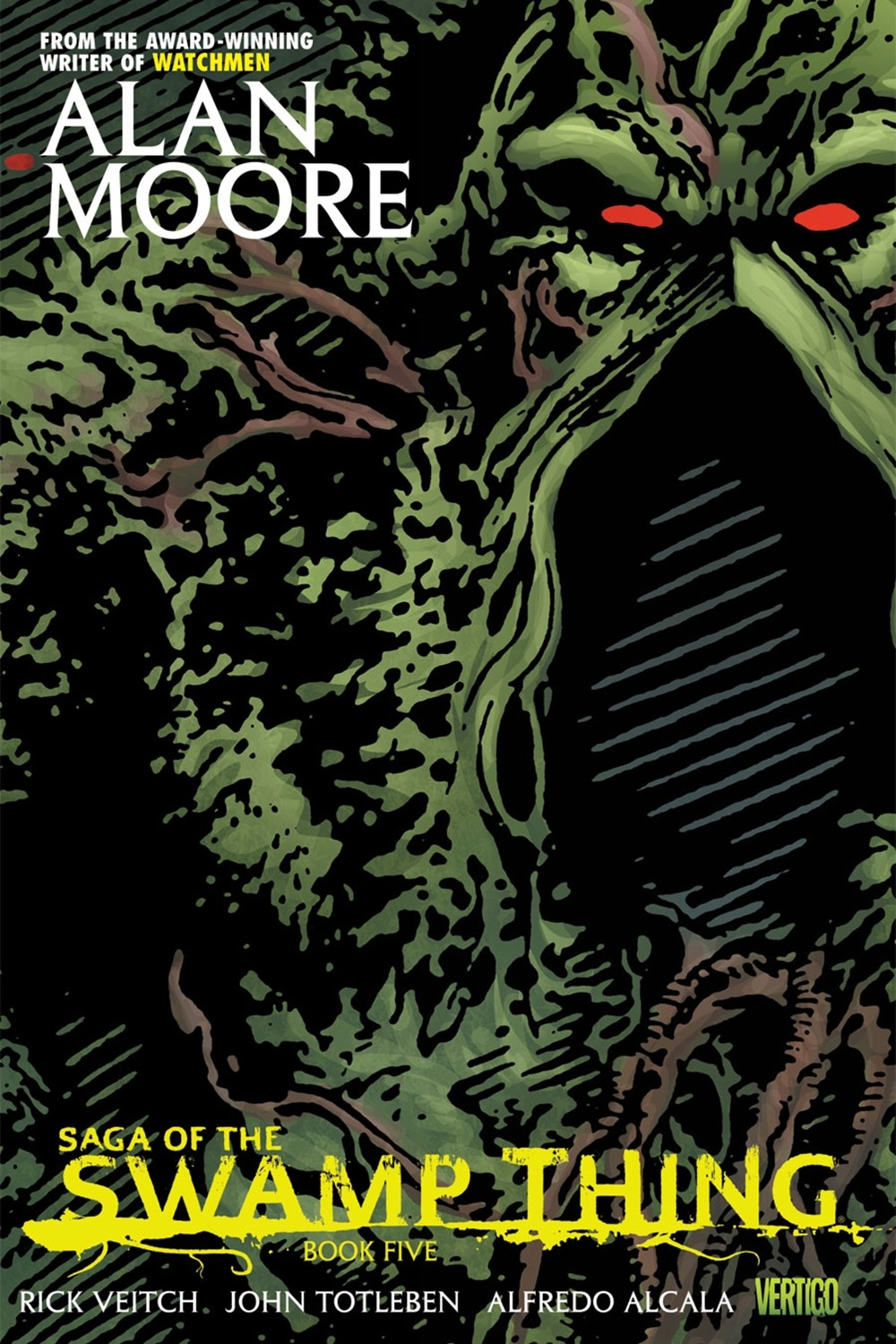 Saga Of The Swamp Thing Book Five by Alan Moore, ISBN: 9781401230968