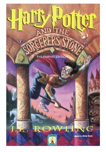 Harry Potter and the Sorcerer's Stone - Filipino Edition by J.K. Rowling, ISBN: 9789715187398