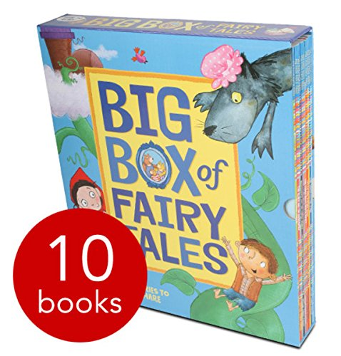 Big Box of Fairy Tales Collection Mara Alperin 10 Books Bundle (Little Red Riding Hood, Goldilocks and the Three Bears, The Gingerbread Man, The Elves and the Shoemaker, Chicken Licken, The Three Billy Goats Gruff, Rumpelstiltskin, The Ugly Duckling, Jack