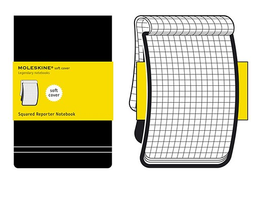 Moleskine Squared Soft Reporter Notebook by Moleskine, ISBN: 9788862933018