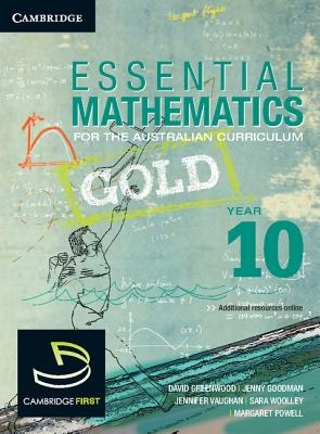 Essential Mathematics Gold for the Australian Curriculum Year 10 and Cambridge Hotmaths