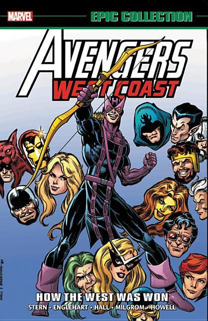 Avengers West Coast Epic Collection: How the West Was Won by Roger Stern, ISBN: 9781302914233