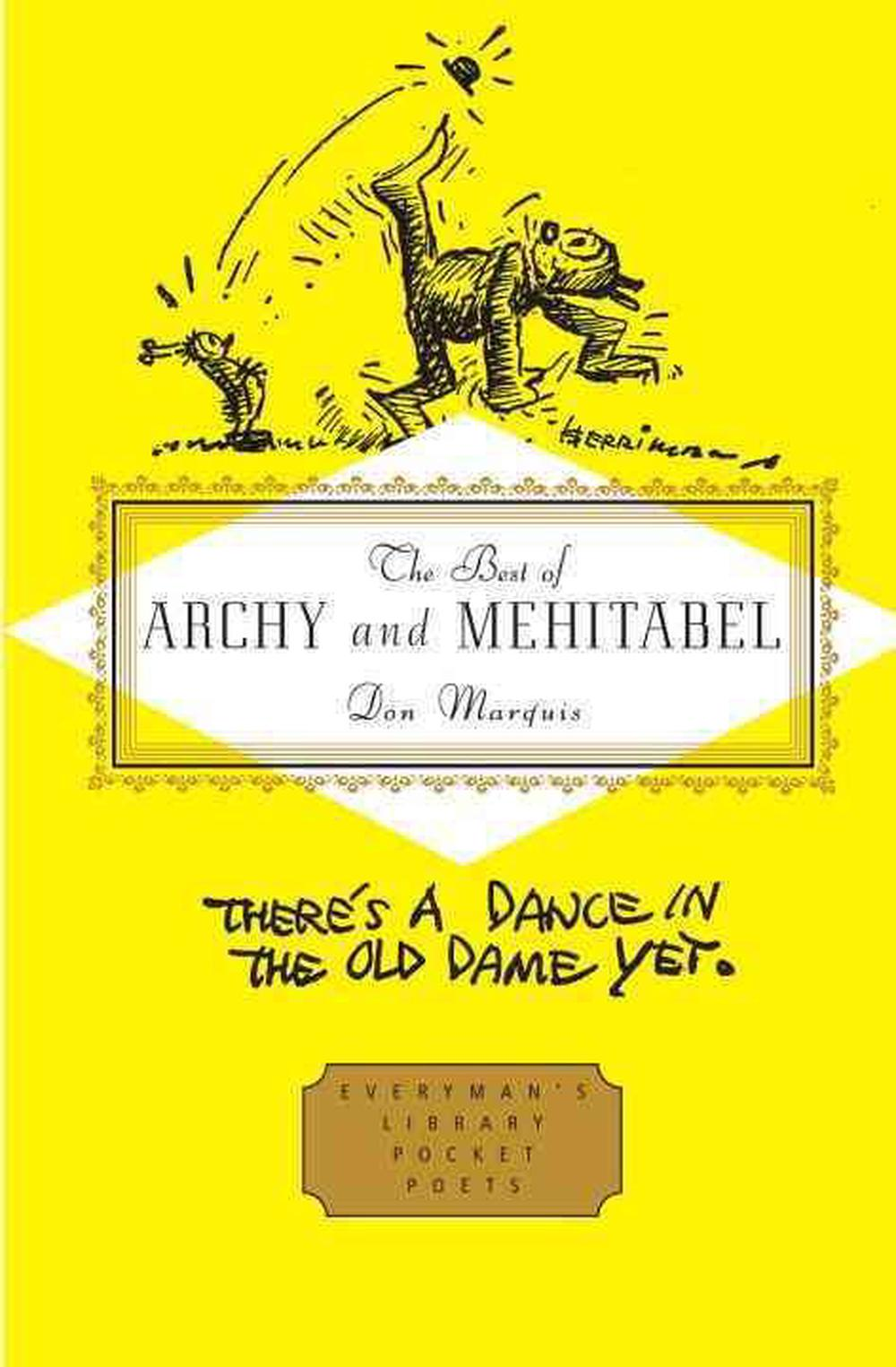 The Best of Archy and Mehitabel by Don Marquis, ISBN: 9780307700926