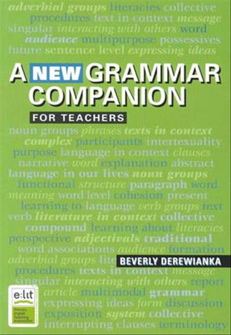 A New Grammar Companion for Teachers