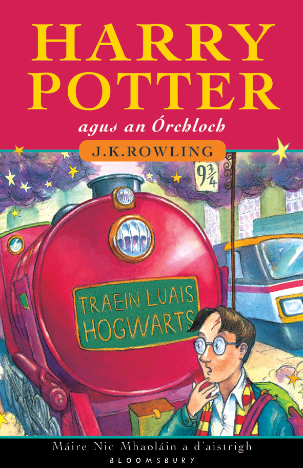 Cover Art for Harry Potter & the Philosopher's Stone Irish edition, ISBN: 9780747571667