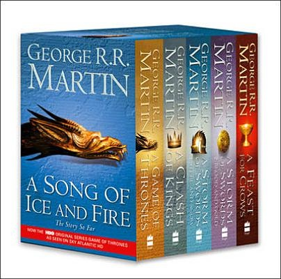 A Game of Thrones: A Song of Ice and Fire, Vol. 1-4: A Game of Thrones / A Clash of Kings / A Storm of Swords: Steel and Snow / A Storm of Swords: Blood and Gold