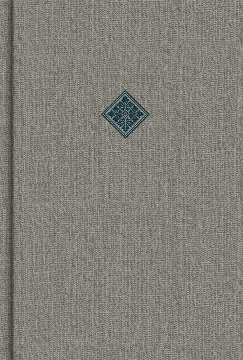 CSB Reader's Bible, Gray Cloth Over Board