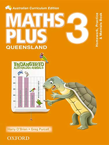 Maths Plus QLD Australian Curriculum Edition Mentals, Practice and Homework 3