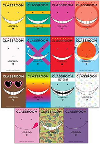 Assassination Classroom Yusei Matsui Volume 1-15 Collection 15 Books Set