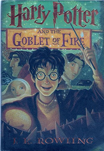 Harry Potter and the Goblet of Fire -- w/ Dust Jacket