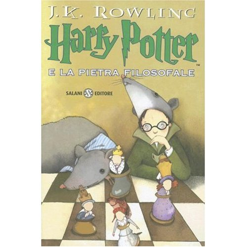 Harry Potter e la Pietra Filosofale (Italian Audio CD Edition of Harry Potter and the Sorcerer's Stone)