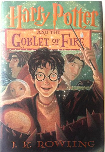 Harry Potter and the Goblet of Fire, 1st, First American Edition