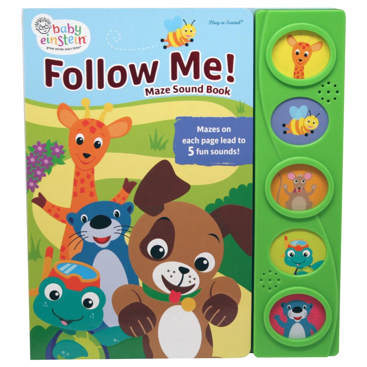 Baby Einstein: Follow Me! Maze Sound Book 9781503711082 by From the Editors of Phoenix International, ISBN: 9781503711082
