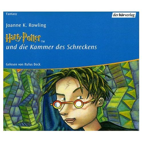 Harry Potter und die Kammer des Schrekens (German 10 Compact Disc Edition of Harry Potter and the Chamber of Secrets (German Edition)