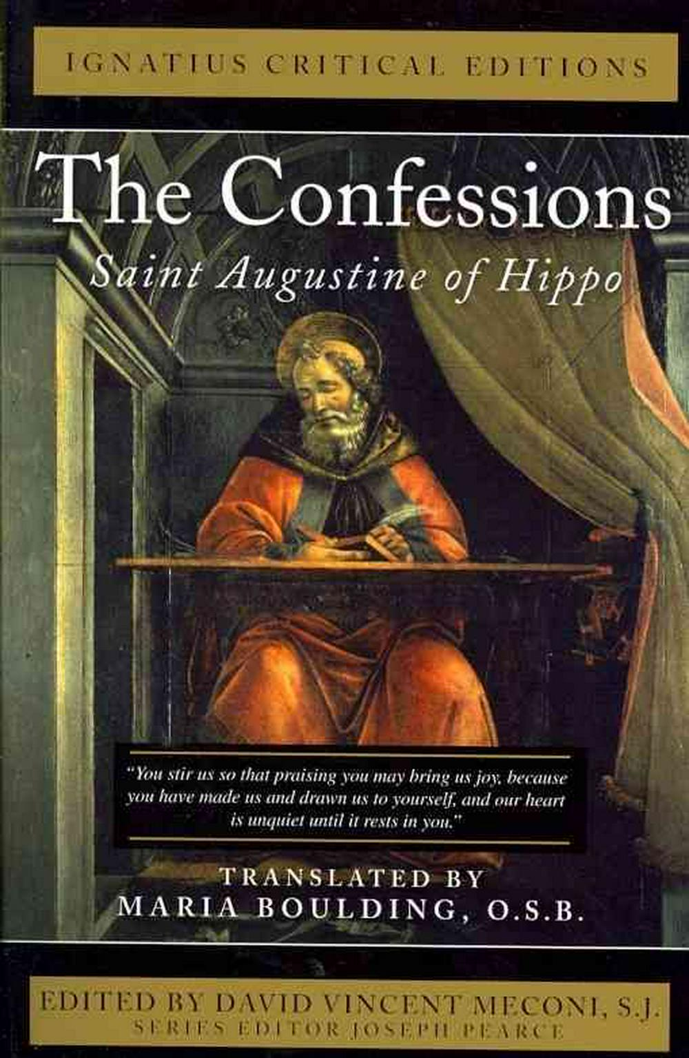 The Confessions: Saint Augustine of Hippo by Saint Augustine of Hippo, ISBN: 9781586176839