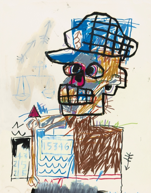 Jean-michel Basquiat Drawing