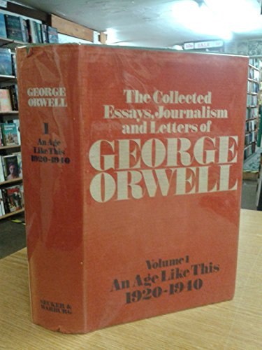 george orwell the collected essays journalism and letters The collected essays, journalism and letters of george orwell (art)pdf.