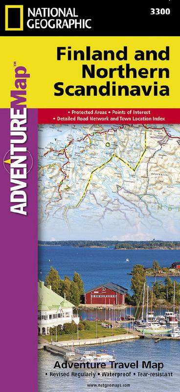 Finland and Northern Scandinavia (Adventure Travel Map) by National Geographic (Adventure Map)