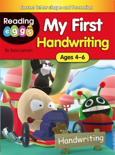 Reading Eggs: My First Handwriting by Sara Leman, ISBN: 9780750294980