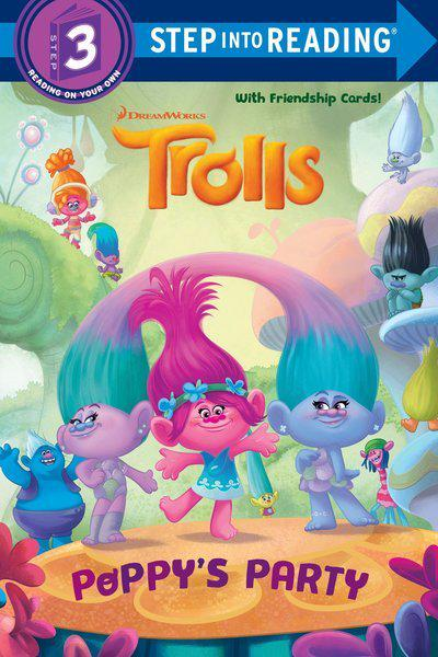 Trolls Deluxe Step Into Reading with Cardstock (DreamWorks Trolls)Step Into Reading