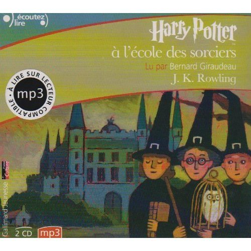 "Harry Potter a l'Ecole des Sorciers (French Audio CD (2 MP3 Compact Discs) Edition of ""Harry Potter and the Philosopher's Stone"") (French Edition)"